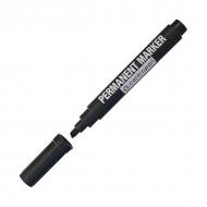 Маркер перманентный черный Centropen 8567 скошенный