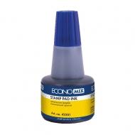 Штемпельная краска Economix синяя